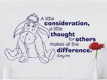 eeyore quote on consideration